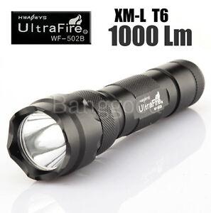 UltraFire-CREE-XM-L-XML-T6-LED-502-502B-Flashlight-Torch-1000-Lumens-5-Modes