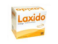 Laxido Orange Flavour Sachets - Macrogol Sachet - New with box