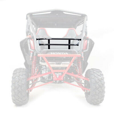 HMF Racing Rear Aluminum Cargo Rack Tailgate Black Honda Talon 1000R/1000X