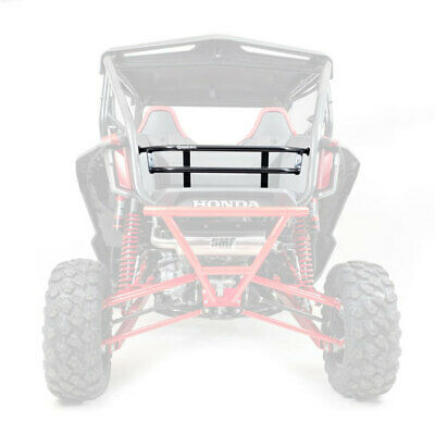 HMF Racing Rear Aluminum Cargo Rack Tailgate Black Honda Talon 1000R   X