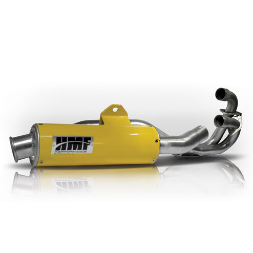 Honda TRX 400EX 1999-2015 HMF performance Series FULL Exhaust yellow