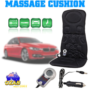 6 Cushion Car Motor Massage Seat Pad Massager Chair Silverwater Auburn Area Preview
