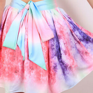 **BRAND NEW** Multi Color Girly Galaxy Flared Skirt Cambridge Kitchener Area image 5