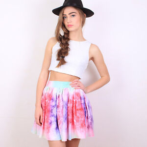 **BRAND NEW** Multi Color Girly Galaxy Flared Skirt Cambridge Kitchener Area image 4