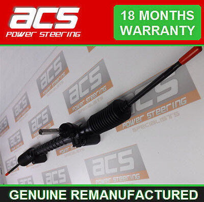 VAUXHALL COMBO, ALL ENGINES, 2001 TO 2011 RECONDITIONED STEERING RACK, EPS