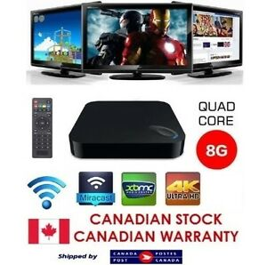 NEW fully loaded android box IPTV unlimited tv shows & movies