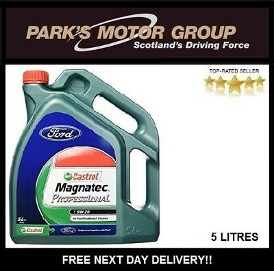 Castrol Magnatec Professional 5W-20 Engine Oil 5 Litre Ecoboost Engines 151A95