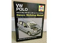 Haynes Volkswagen Polo Repair Manual