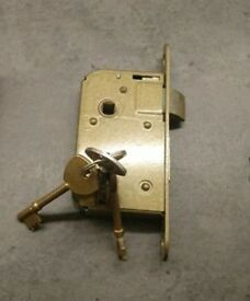 mortise lock with 3 keys