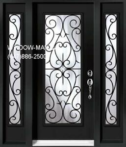 Single TwoSideLites Entry Door Front  Quality product