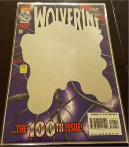 MARVEL COMICS WOLVERINE #100 holographic cover
