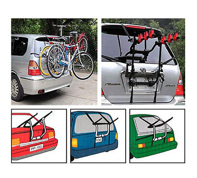 BICYCLE BIKE CAR CYCLE CARRIER RACK UNIVERSAL FITTING SALOON HATCHBACK ESTATE