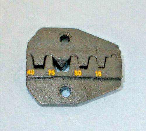 Crimper DIE for 4 Size Power Poles-15,30,45 & 75 Amp Contact, fits Most Crimpers