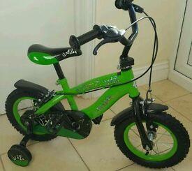 Small size 12 boys bike