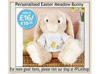Personalised Easter Meadow Bunny