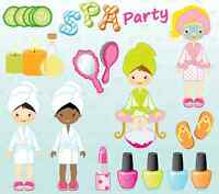 SPA on Wheels - Mother-Daughter, Manicure, Pedicure, Make-Up