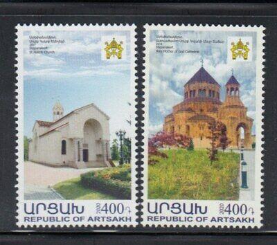 KARABAKH St. Hakob Church & Holy Mother of God Cathedral MNH set
