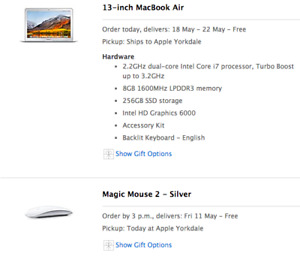 New Apple 13 Macbook for trade
