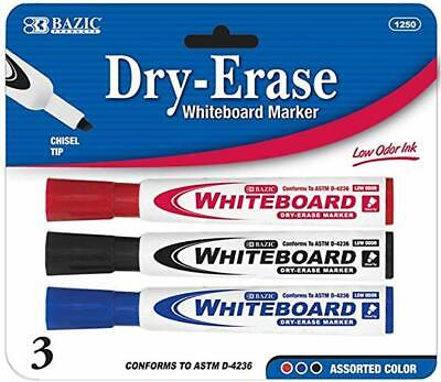 Dry Erase Whiteboard Markers Red Black Blue New In Pack Free Shipping