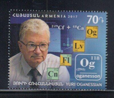 ARMENIA Yuri Oganessian, Soviet Nuclear Physicist MNH stamp