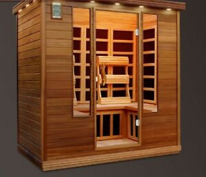 6 PERSON SAUNA WITH STEREO