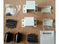 NEW UNUSED SONY kdl42w705 TV WALL MOUNT BRACKET ASSEMBLY