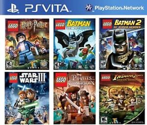 6 Games in 1 PsVita
