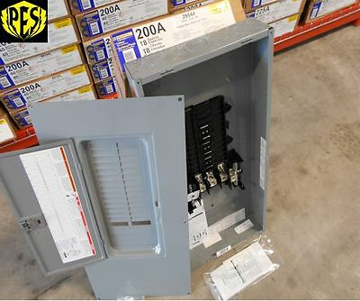 NIB SQUARE D QO318L200G 200 AMP MAIN LUG THREE PHASE N1 LOAD CENTER W/FREE COVER