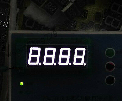 10pcs 0.36 Inch 4 Digit Led Display 7 Seg Segment Common Cathode White 0.36