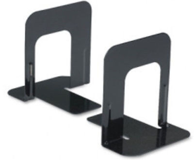 """US 0 SHIP NEW Non Skid Bookends Solid Metal 5"""" High One Pair of 2 Bookends"""