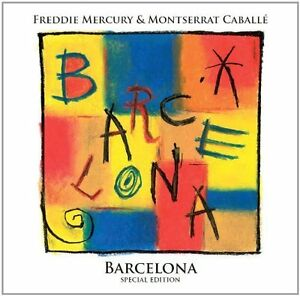 FREDDIE MERCURY & MONTSERRAT CABALLE ( NEW CD ) BARCELONA ( SPECIAL EDITION )
