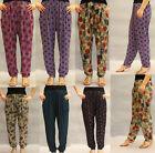 Wide Leg Harem Regular Size Pants for Women
