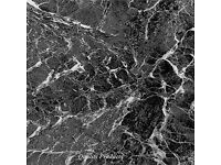 88 x Vinyl Floor Tiles - Self Adhesive - Kitchen, Stick BNIB Plain Marble Effect new RRP £48 now £35
