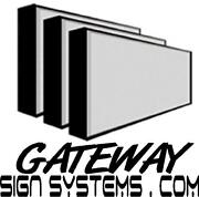 Lighted Outdoor Business Sign