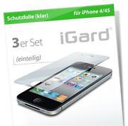 iPhone 4 Schutzfolie Vorderseite