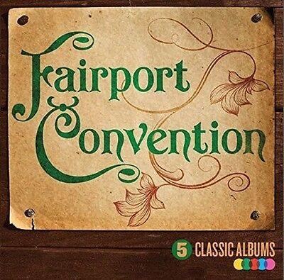 Fairport Convention   5 Classic Albums  New Cd  Uk   Import