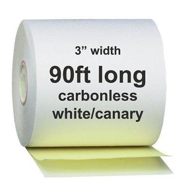 2 Ply Carbonless Receipt Paper Rolls 3