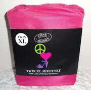 Pink Twin Sheet Set