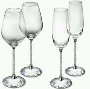 Swarovski Champagne Flutes