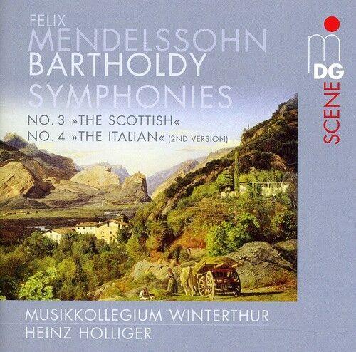 Symphonies No. 3 & 4 (Versi - F. Mendelssohn (2011, SACD NEU) Sacd/Hybrid