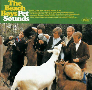 THE BEACH BOYS (PET SOUNDS REMASTERED CD - SEALED + FREE POST)
