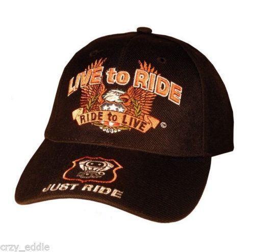 Motorcycle Baseball Caps Ebay