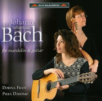 J.S. Bach - Transcriptions for Mandolin & Guitar [New CD]