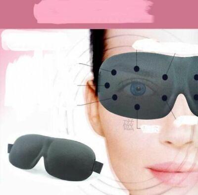 Magnetic health Soft Padded Sleep Mask 3D Sponge Eye Cover Travel aid Rest USA