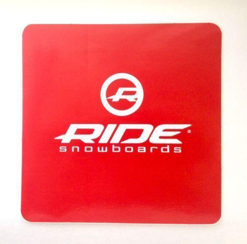 Ride Snowboard Stickers