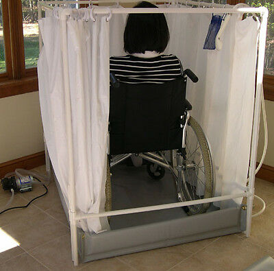 Portable Shower Stall | Wheelchair-accessible | Made in USA
