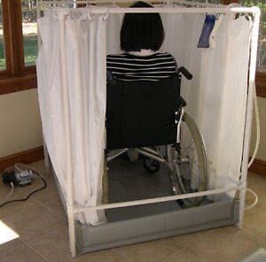 Portable Shower Wheelchair Accessible Showers LiteShower Standard Model