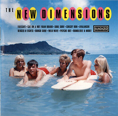 NEW DIMENSIONS The Best Of CD NEW SEALED SURF ROCK SUNDAZED COMPILATION RARE