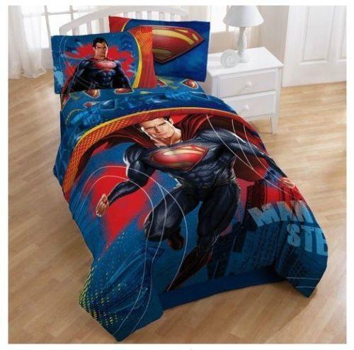 Superman Bedding Ebay