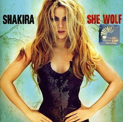 Shakira   She Wolf  New Cd  France   Import